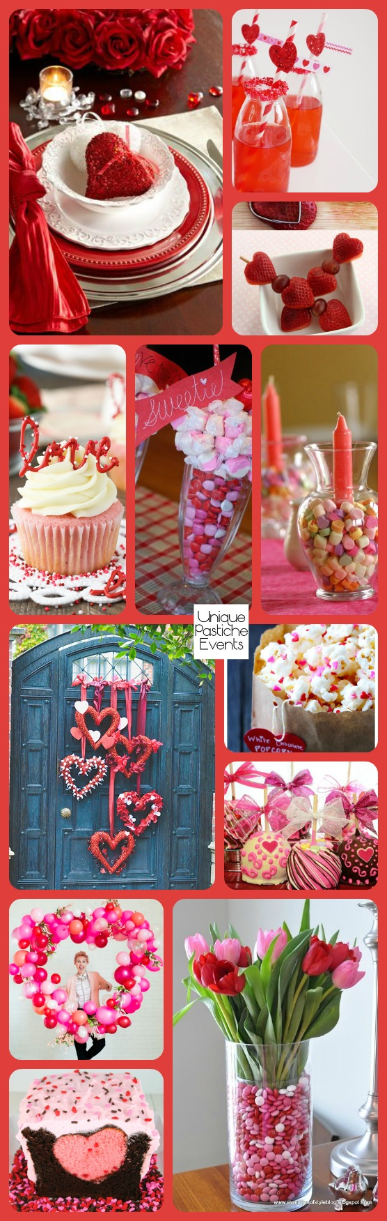 Sweets for Your Sweetie - Valentine's Day Dessert Soiree Ideas See the full post with all the details: https://uniquepasticheevents.com/2016/02/11/sweets-for-your-sweetie-valentines-day-dessert-soiree-ideas/