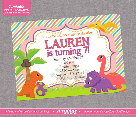 489 In Colorful Dinosaur Party Ideas