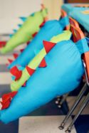 Dino Tails Favors – shared by Buggie and Jellybean
