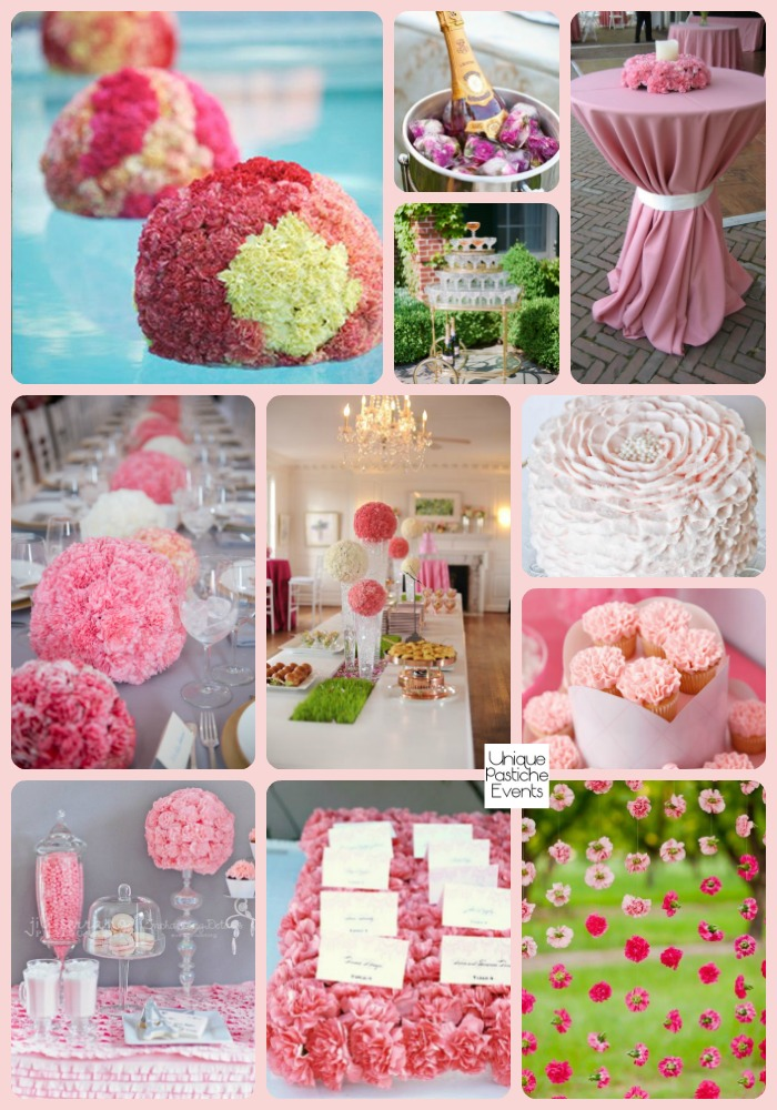 Pink Carnation Inspired Spring Soiree - Party Ideas See the full post with all the details:https://uniquepasticheevents.com/2016/03/09/pink-carnation-inspired-spring-soiree-party-ideas/