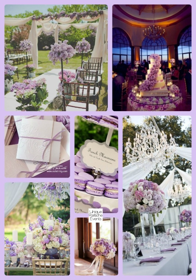 Pop of Purple – Countryside Spring Wedding Ideas