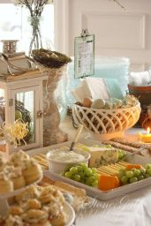Spring Party Food Buffet – shared by StoneGable