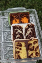 Animal Print INSIDE the Cake – recipe and tutorial shared by Sweet Dreams 1