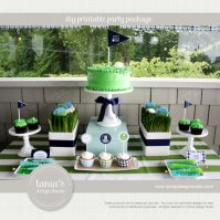 Golf Partee Printable Birthday Party Package – created and sold taniasdesignstudio on Etsy