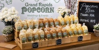 Popcorn Bar – available by Grand Rapids Popcorn