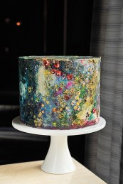 Abstract Artistic Painted Cake – by Maggie Austin Cake
