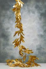Bay Leaf Gold Garland – available on SaveOnCrafts