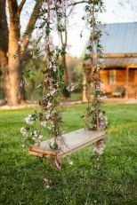 Midsummer's Night Vine Wrapped Swing – shared in the Style Me Pretty Vault
