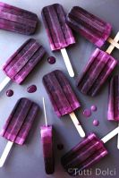 Blackberry Ombre Popsicles – recipe shared by Tutti Dolci, All Sweets