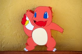 Charmander Pokemon Pinata – made and sold by AbdisPinataShop on Etsy