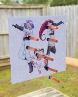 Team Rocket Pokémon Nerf Gun Game – shared by A Thousand Words