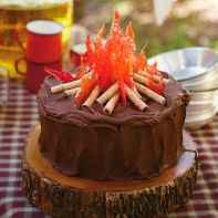 Campfire Cake – shared by Hallmark