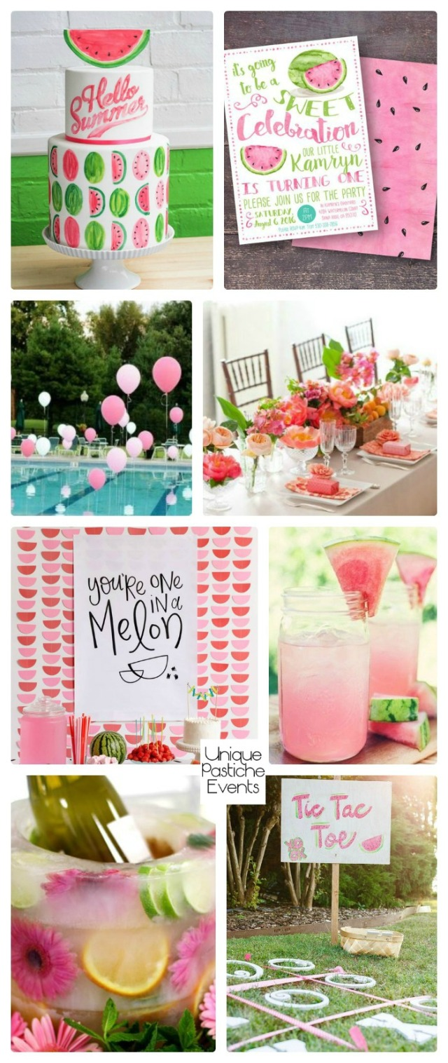 Summertime Watermelon Party Ideas