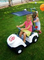 Personalized Mini Kids Golf Cart – shared by A Little Slice of Swank