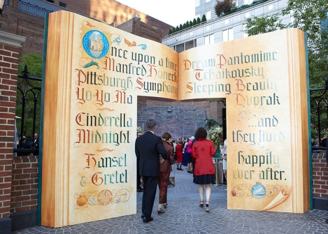 Storybook Event Gala Entrance – featured on Special Events