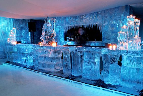 Ice Bar and Display – also found on Pinterest