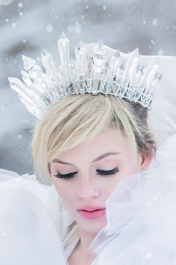 Icicle Crown – spotted on Pinterest
