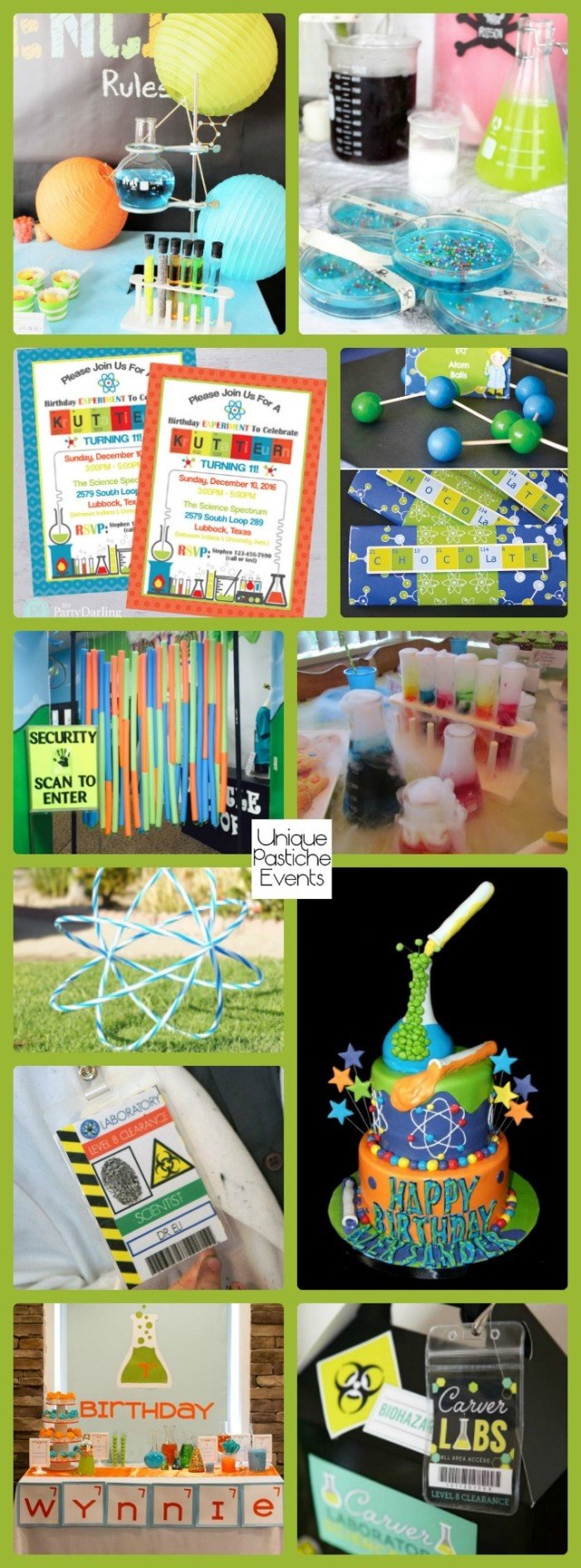 11 Kid's Science Themed Party Ideas