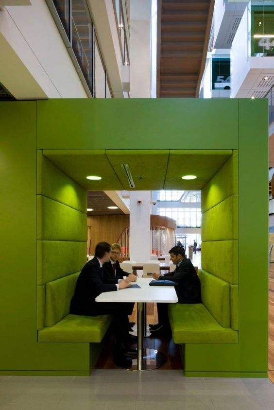 Greenery Meeting Cubes – spotted on Pinterest