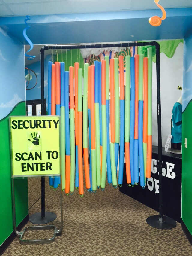 Lab Security Scan Entrance – spotted on Pinterest