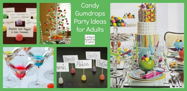 Candy Gumdrops Party Ideas for Adults