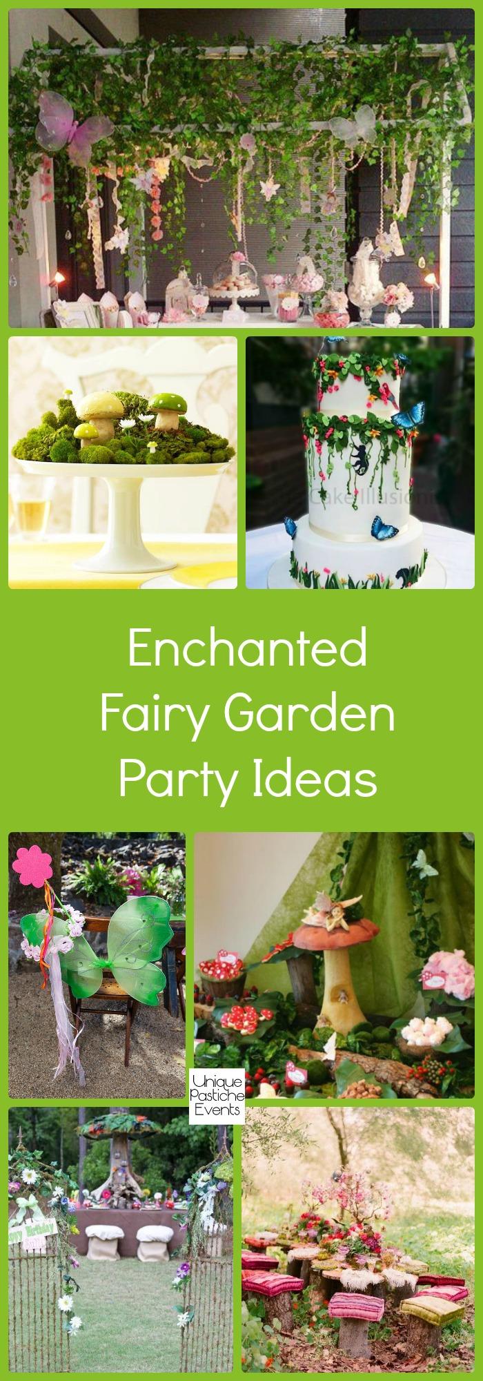 Enchanted Fairy Garden Party Ideas