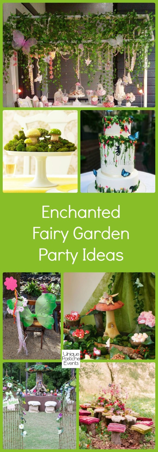 Enchanted Fairy Garden Party Ideas | Unique Pastiche Events