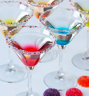 Gumdrop Cocktails – recipe shared by Tablespoon