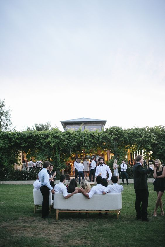 Lawn Reception with Vines – captured by Katie Harmsworth
