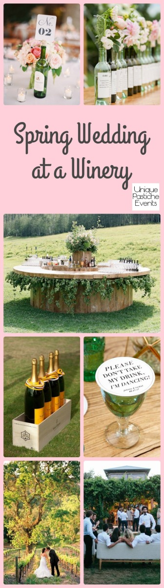 Spring Wedding at a Winery