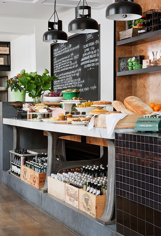 Baked Goods and Sweet Buffet Display – shared by Studio M Inc.