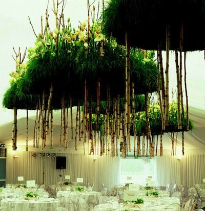 Hovering Floating Land with Green Grass and Wood – created by Daniel Ost