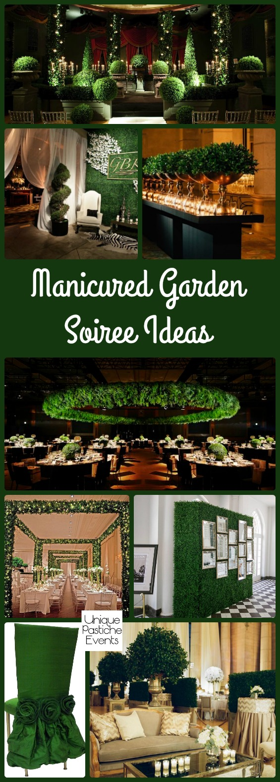 Manicured Garden Party Decor Ideas