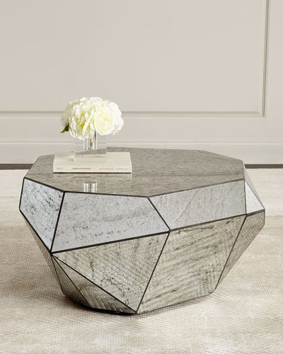 Dimensional Mirror Coffee Table – sold on Horchow