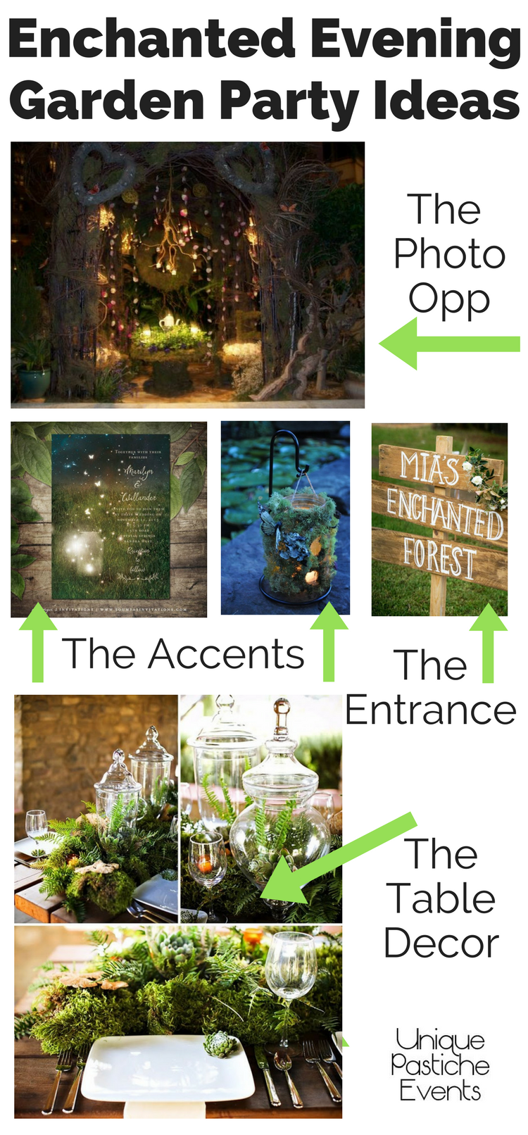 Enchanted Evening Garden Party Ideas