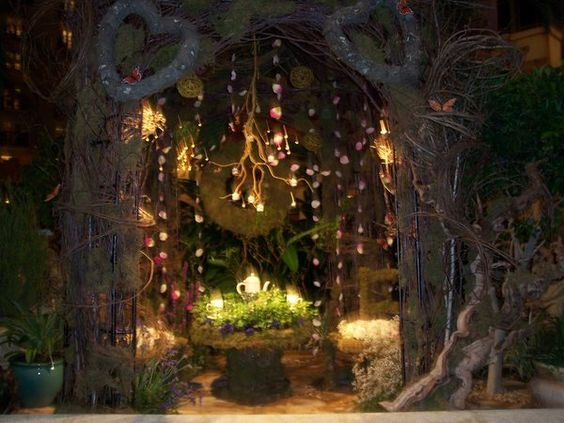 Enchanted Forest Evening Perimeter Decor – shared by RoninWarriorRyou on DeviantArt