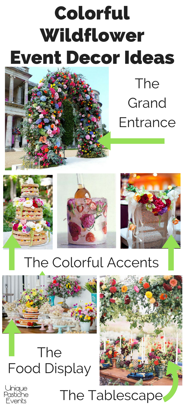 Colorful Wildflower Party Ideas