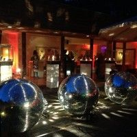 Giant Disco Ball Event Decor