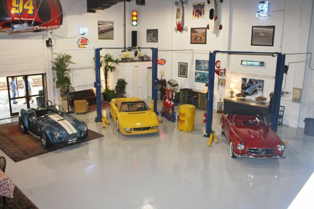 Rick_s Classic Cars Party Venue – shared on BizBash