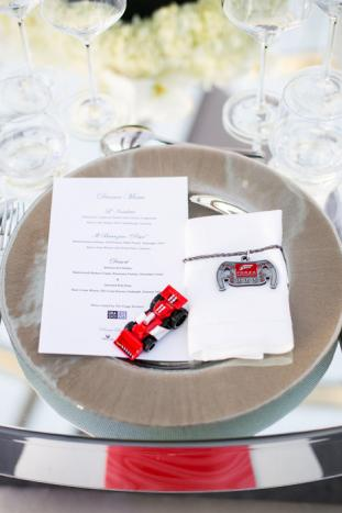 Hot Wheels Toy Takeaways and Place Settings – shared by BizBash